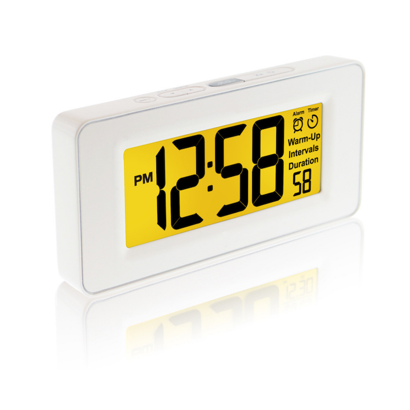 The meditation timer and alarm clock